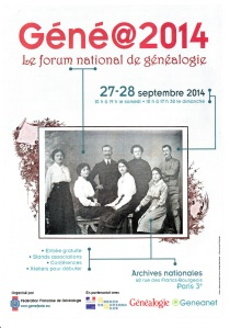 salon genealogie 2014-09-27 Paris