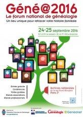 salon genealogie 2016-09-24 Paris