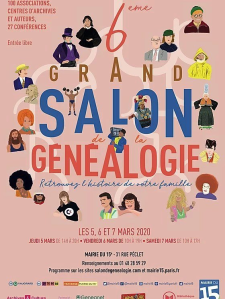 salon genealogie 2020-03-05 Paris