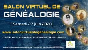 salon genealogie 2020-06-27 Paris virtuel