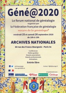 salon genealogie 2020-09-25 géné@2020